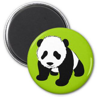 BLACK WHITE PANDA BEAR ENVIRONMENT ANIMALS WILD MAGNET
