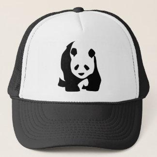 Black White Panda Bear Wildlife Zoo Animal Tshirt Trucker Hat