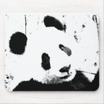 Black & White Panda Mouse Pad