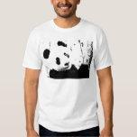 Black & White Panda T Shirt