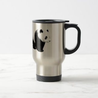 Black & White Panda Travel Mugs
