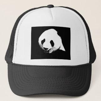 Black & White Panda Trucker Hat