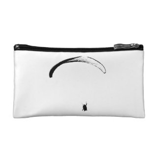 Black & White Parachute - Cosmetic Bag