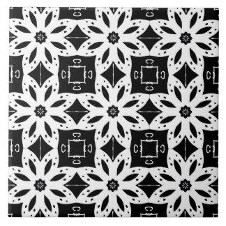 BLACK & WHITE PATTERN 2 ~ TILE