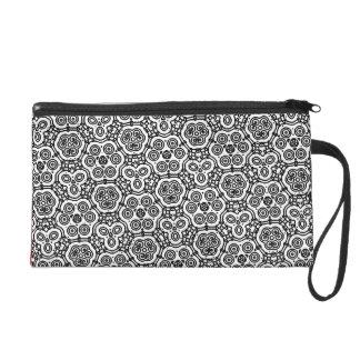 Black/White Pattern Bagettes Bag