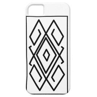 Black&White  pattern Case-mate Iphone 5 Case