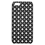 Black & White Pattern Cover For iPhone 5C