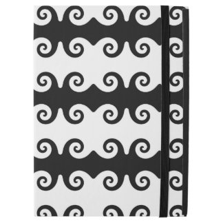 Black & White Pattern Design iPad Case