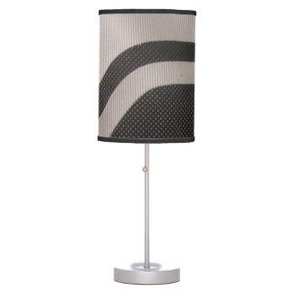 Black & White Pattern Lamp