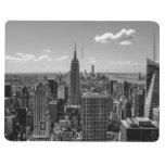 Black & White Photo of the New York City Skyline Journals