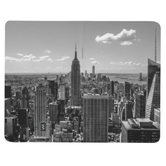 Black & White Photo of the New York City Skyline Journal