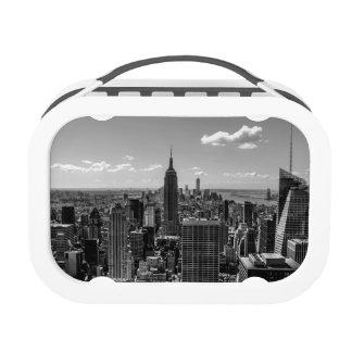 Black & White Photo of the New York City Skyline Lunch Box