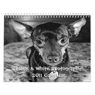 Black & White Photography - 2011 Calendar