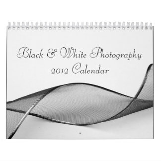 Black & White Photography 2012 Calendar