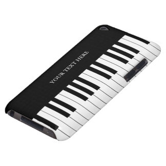 Black & White Piano Keys Barely There iPod Cover