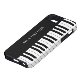 Black & White Piano Keys iPhone 5 Case
