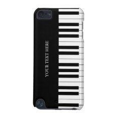 Black & White Piano Keys Ipod Touch 5g Case at Zazzle