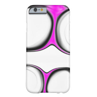 Black White Pink Barely There iPhone 6 Case