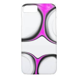 Black White Pink iPhone 8/7 Case