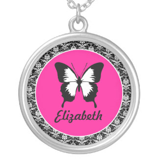 Black & White & Pink with Wings Jewelry