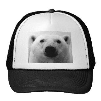 Black & White Polar Bear Trucker Hats