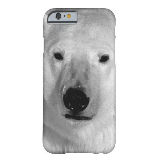 Black & White Polar Bear iPhone 6 Case