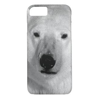 Black & White Polar Bear iPhone 7 Case