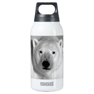 Black & White Polar Bear SIGG Thermo 0.3L Insulated Bottle