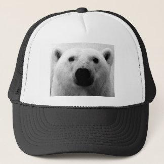 Black & White Polar Bear Trucker Hat