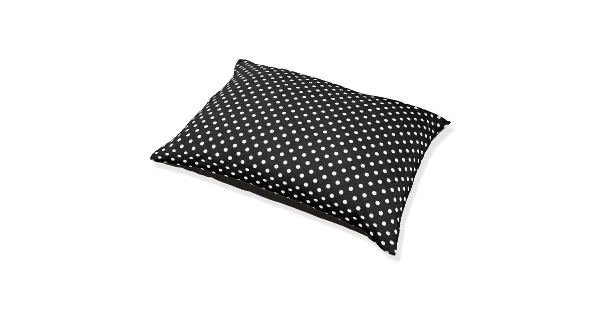 Large Polka Dot Dog Bed