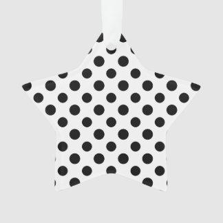 Black White Polka Dots Pattern