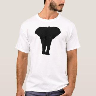 Black & White Pop Art Elephant T-Shirt