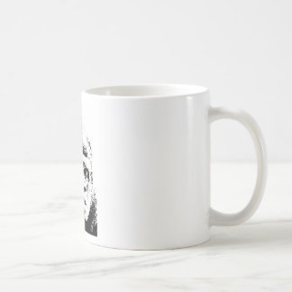 Black White Pop Art Gorilla Coffee Mug