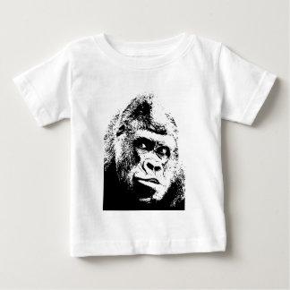 Black White Pop Art Gorilla Infant T-shirt