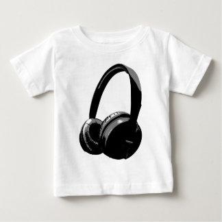 Black & White Pop Art Headphone T-shirts