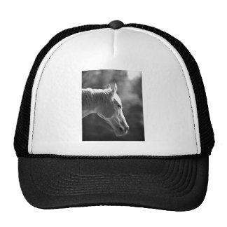 Black & White Pop Art Horse Trucker Hat