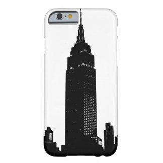 Black & White Pop Art New York Barely There iPhone 6 Case