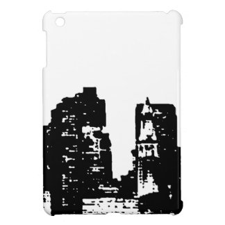 Black White Pop Art New York City iPad Mini Cases