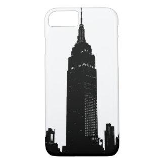 Black & White Pop Art New York iPhone 7 Case