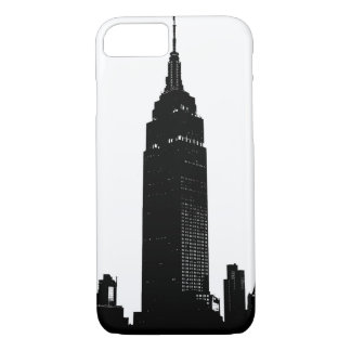 Black & White Pop Art New York iPhone 8/7 Case