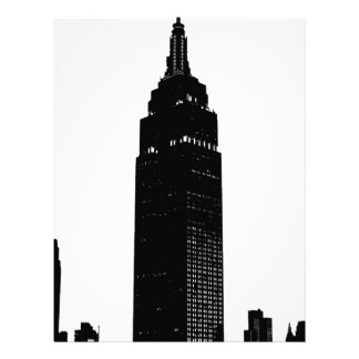 Black & White Pop Art New York Letterhead