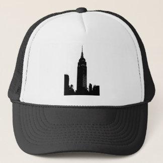 Black & White Pop Art New York Trucker Hat