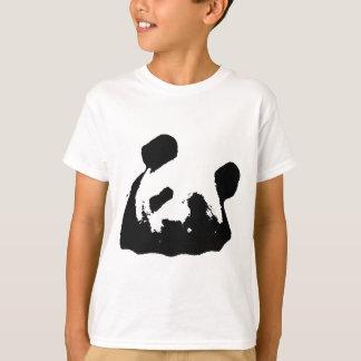 Black White Pop Art Panda T-Shirt
