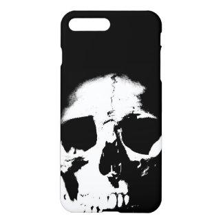 Black & White Pop Art Skull iPhone 8 Plus/7 Plus Case