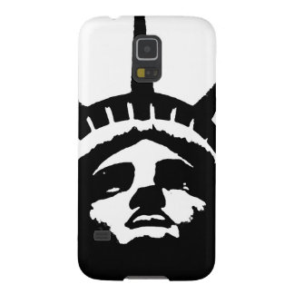 Black & White Pop Art Statue of Liberty Case For Galaxy S5