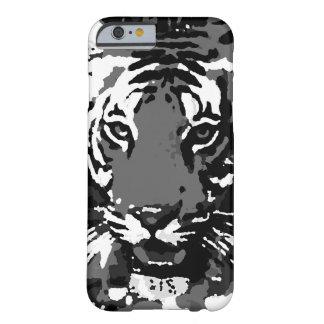 Black White Pop Art Tiger iPhone 6 Case