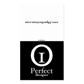 Black & White - Portfolio Business Card