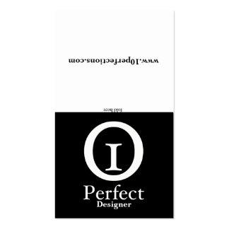 Black & White - Portfolio Business Card Template