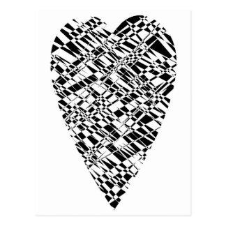 black & white post cards