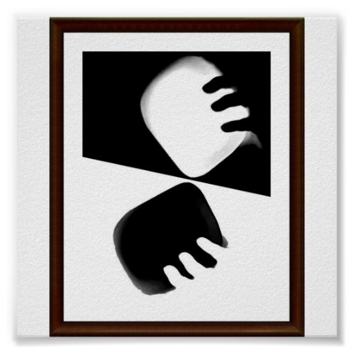 Black & white posters